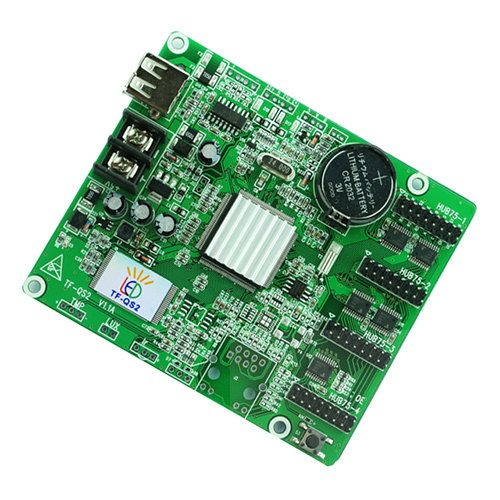 TF-QS2 USB Full color asynchronous LED control card supports 256*128 512*64 comes with 4*HUB75
