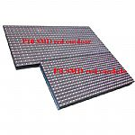 P10 SMD single red color outdoor waterproof LED display screen modules