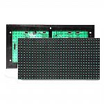 P10 Blue monochrome outdoor waterproof dip led screen modules 320mm*160mm HUB12